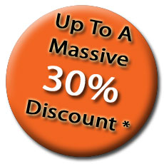 Up to a massive 30% discount on valets